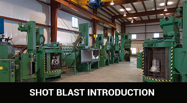 New Shot Blast and Shot Peening Equipment